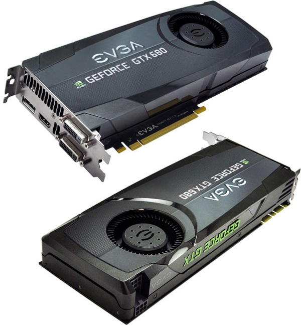 Модель EVGA GeForce GTX 680 Superclocked