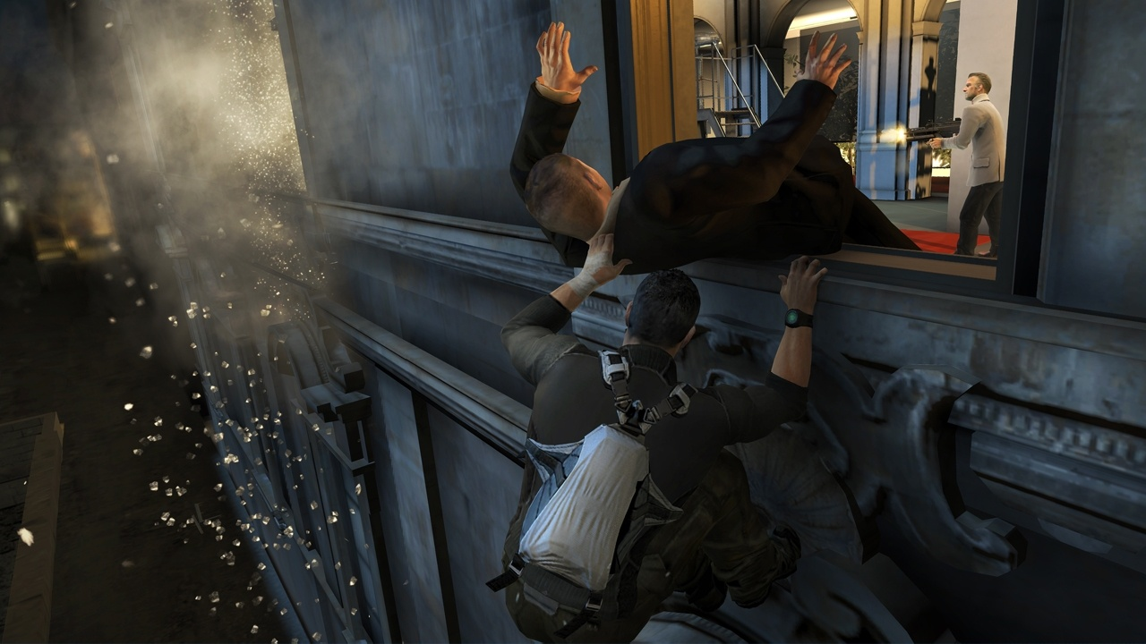 Splinter cell conviction gameplay